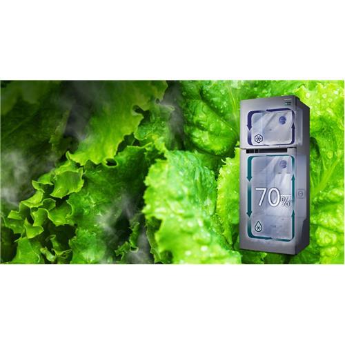 Heladera Samsung No Frost 375 lts Inverter Acero (Rt35K5532sl)
