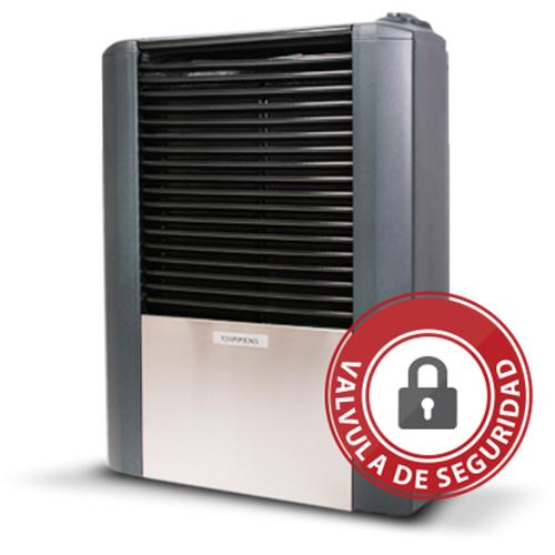 Calefactor Coppens Peltre Acero 3000 Sin Salida MultiGas (057st30)