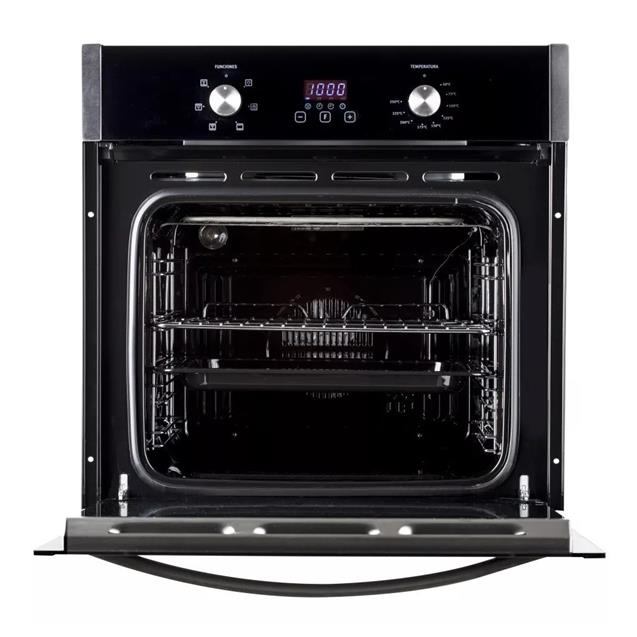 Horno Electrico Empotrable Electrolux 50 lts Negro (Eoch50)