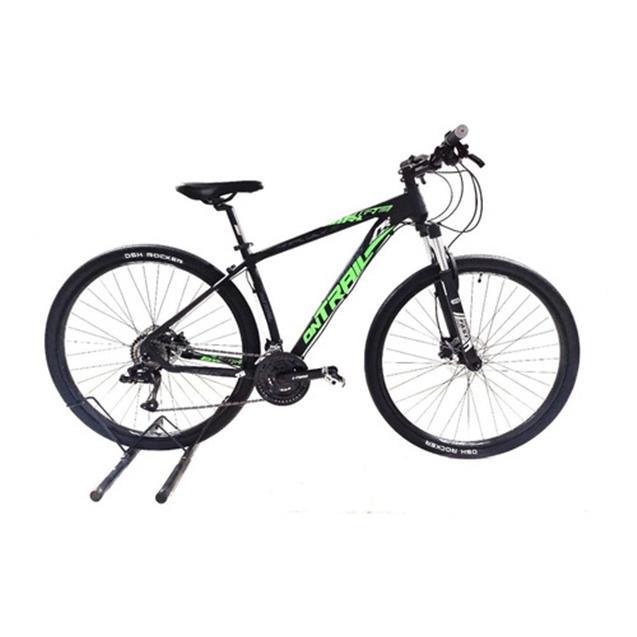 "Bicicleta Halley Firebird Mountain Bike OnTrail 29"" T20 21v Negro/Verde (BIN2921V)"