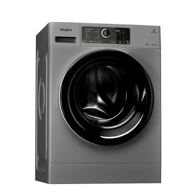 Lavarropas Whirlpool (Wlcf90sb) 9kg 1400 Rpm Silver C/F
