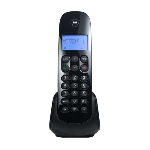 Teléfono Inalámbrico Motorola Negro (Mom700)