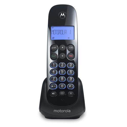 Teléfono Inalámbrico Motorola Negro (Mom750)