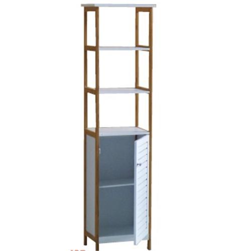 Mueble Vanguard Bambu Blanco/Haya 40x30x157