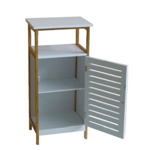 Mueble Vanguard Bambu Blanco/Haya 40x30x84