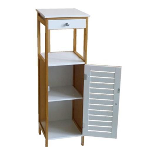 Mueble Vanguard Bambu Blanco/Haya 30x30x96