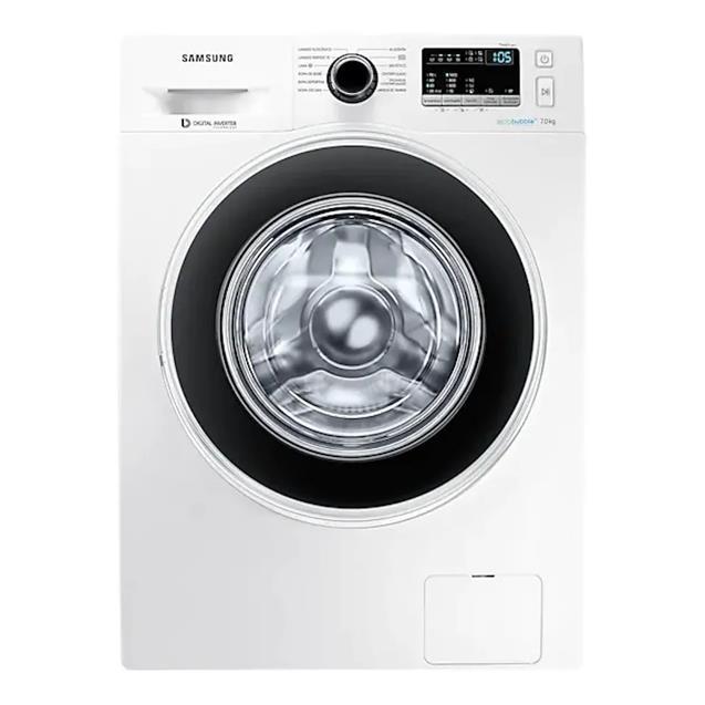 Lavarropas Samsung 7kg 1400Rpm Inverter Blanco