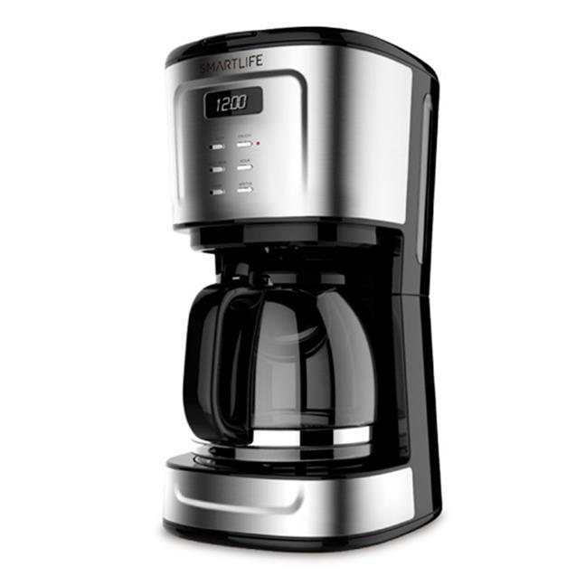 Cafetera Smartlife 1.5lts Temporizador Digital (Cm1095)