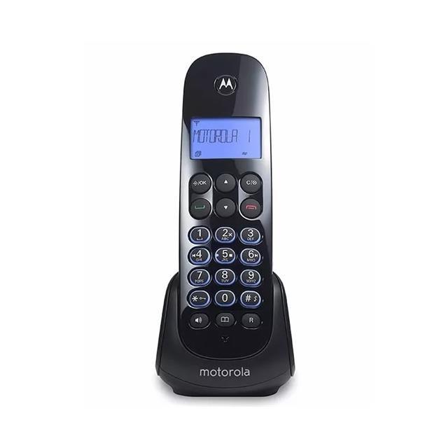 Telefono Inalambrico Motorola Contestador Mom750ce Negro