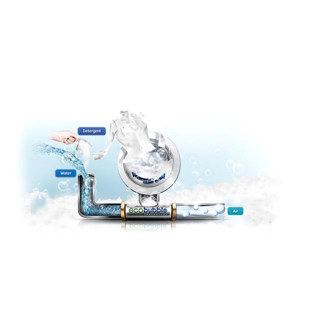 Lavarropas Samsung 9Kg 1400Rpm Inverter Gris (Ww90j5410gs)