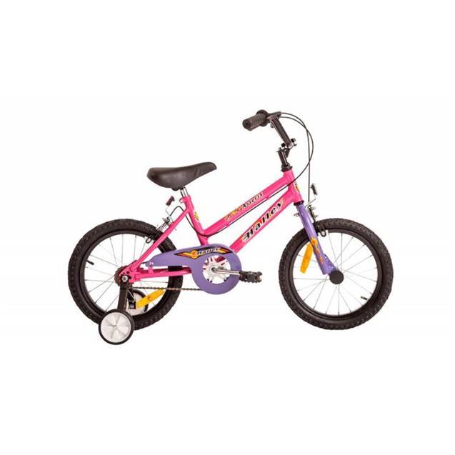 """Bicicleta Halley Rodado 16"""" Rosa (Bin19052)"""