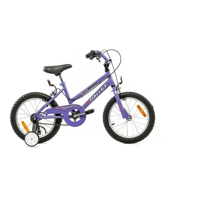 "Bicicleta Halley Rodado 16"" Violeta (Bin19052)"
