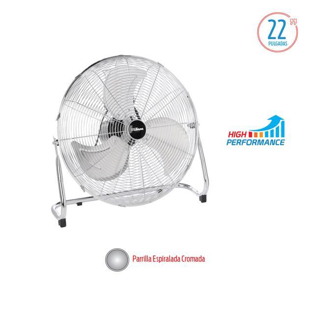 "Ventilador Turbo Liliana 22"" Reclinable 130 w Doble Rodamiento (Vtfm22)"