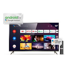 """Smart Tv Tcl 50"""" 4k Android Metalico (L50p8m)"""
