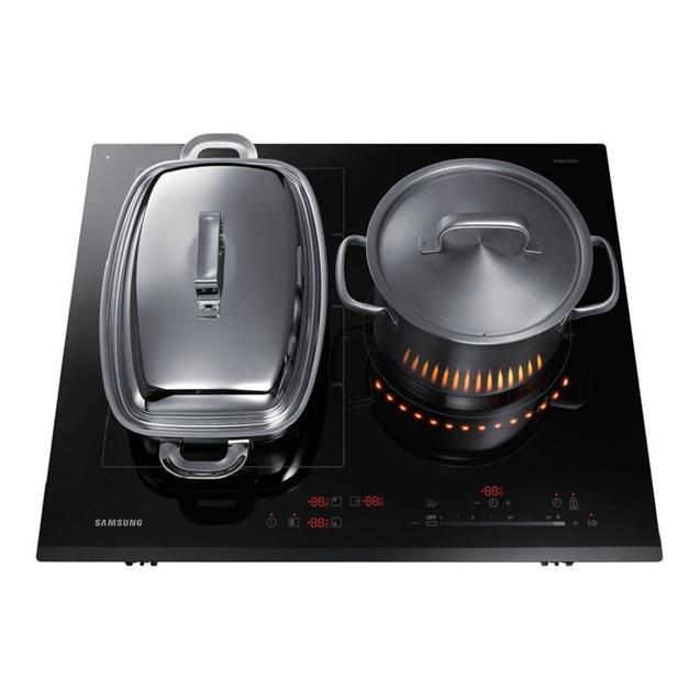 Anafe Electrico Samsung 3 Hornallas Induccion Vitro (Nz63k7777bk)