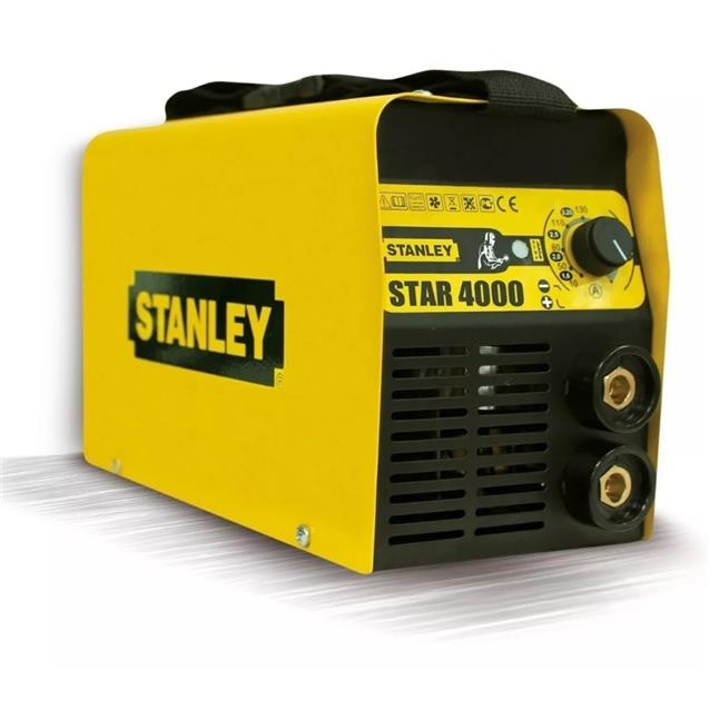 Soldadora Stanley (Star4000) 160amp Inverter 4mm + Careta