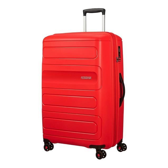 Valija American Tourister Sunside Spinner 68/25 Rojo Mediana
