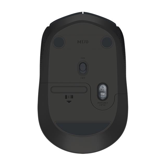 Mouse Logitech M170 Wireless Usb 2.7 Ghz Negro