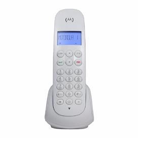 Teléfono Inalámbrico Motorola Blanco (Mom700w)