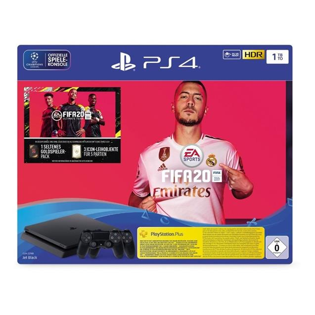 Consola Playstation 4 Slim 1tb Bundle (Fifa 2020)