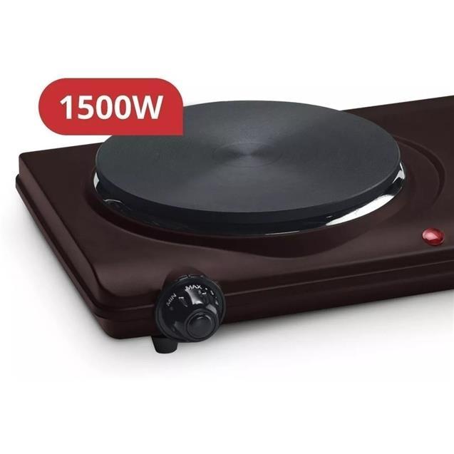 Anafe Electrico Yelmo 2 Hornallas 1500w (an9906)
