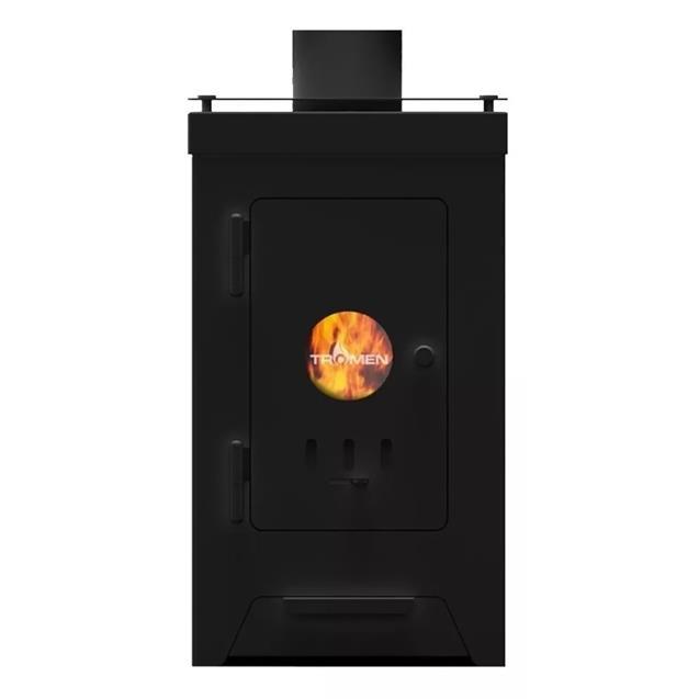 Calefactor Tromen Austral 8000 Leña 60 A 90m2