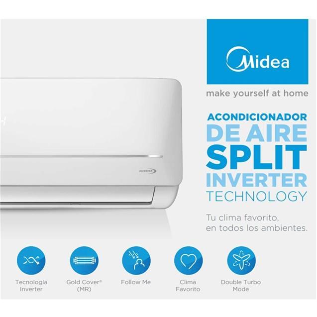 Split Midea 4500 Fg Frio Calor Inverter (Msabic-18h-01f/M)