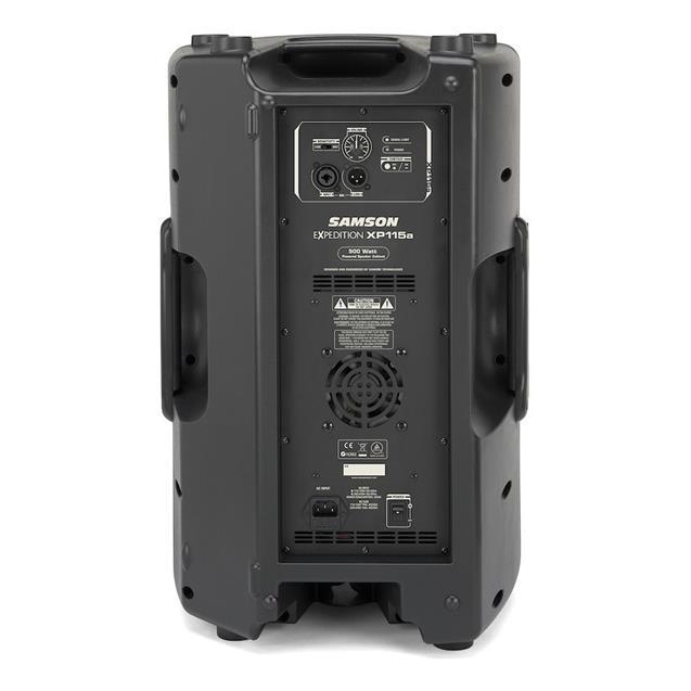 Parlante Samson 500w Activos 2vias + Cable 3,3mts + Tripode (Xp115a)