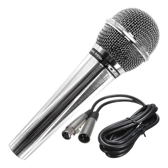 Microfono Ross Dinamico Vocal Cromado (PA FMA3 )