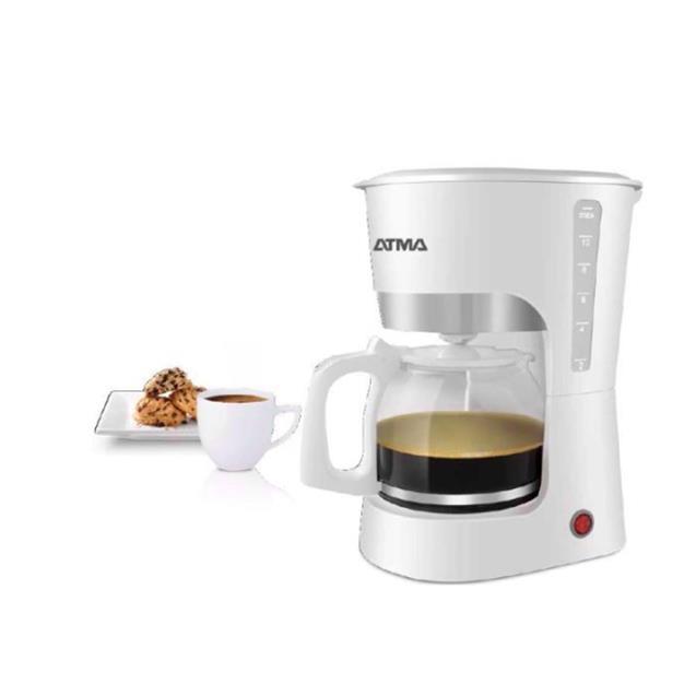 Cafetera Atma Ca8133n Filtro 1.25l Bco