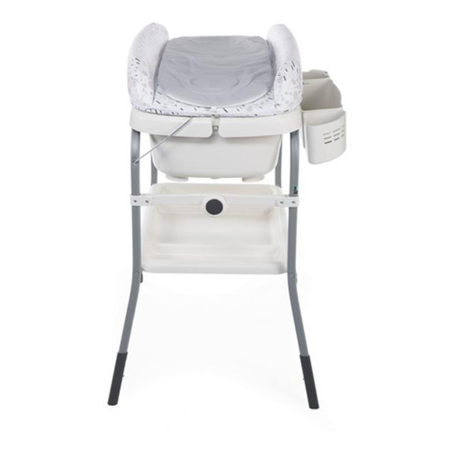 Catre De Baño Chicco Cuddle & Bubble Babymovil Cool Grey