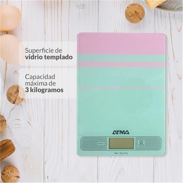 Balanza De Cocina Atma Bc7204n