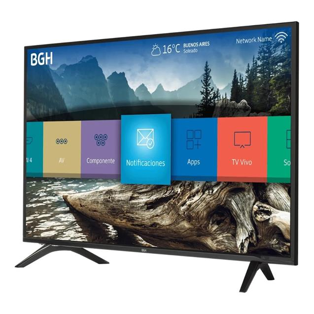 "Smart Tv Bgh 43"" (B4318fh5) Fhd Smart Quad Core"