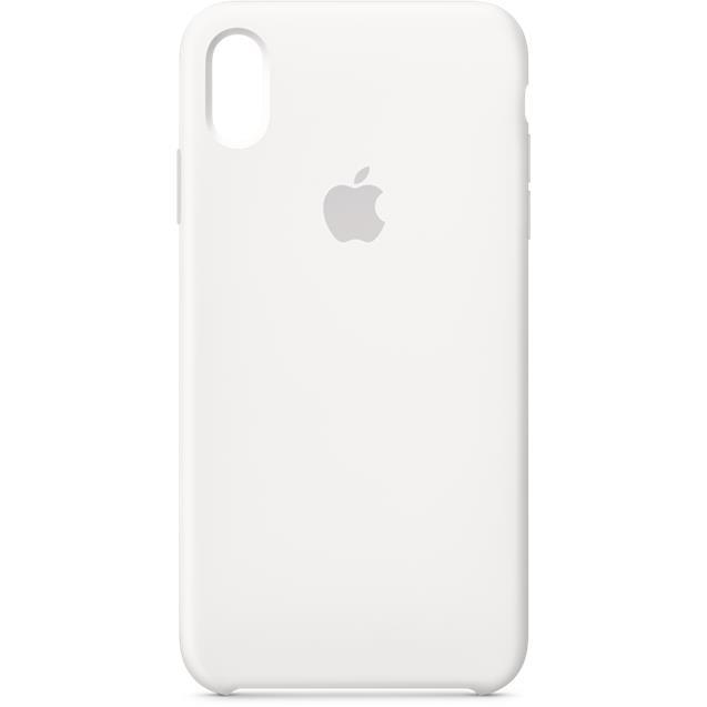 Iphone XS MAX Silicone CASE White