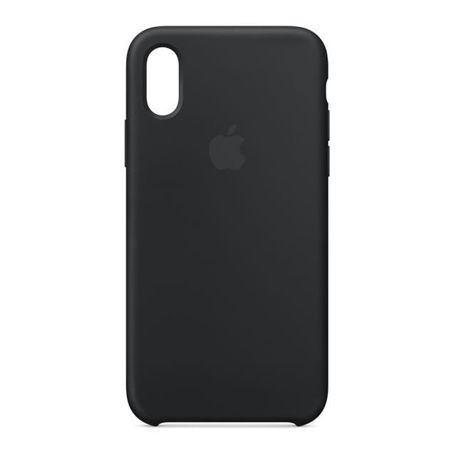 Iphone XS Silicone CASE Black