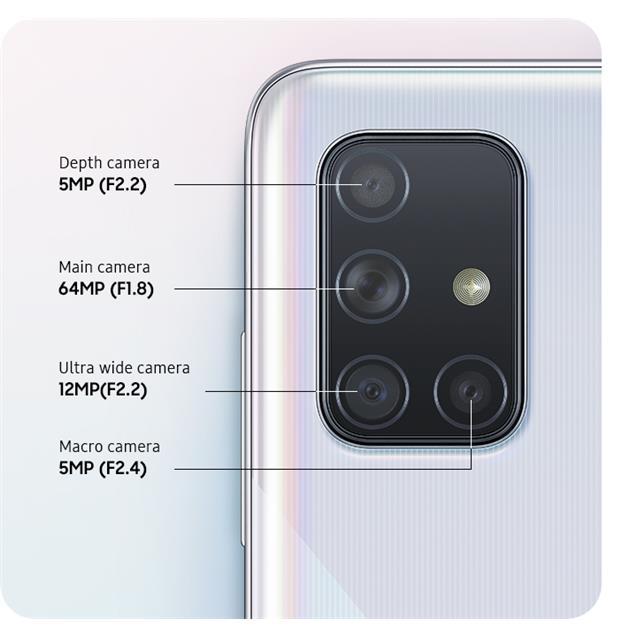 Samsung Galaxy A71 128Gb 6GB Black