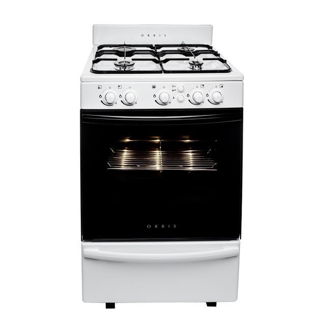 Cocina A Gas Orbis 858bc3 55cm Luz / Autolimpiante
