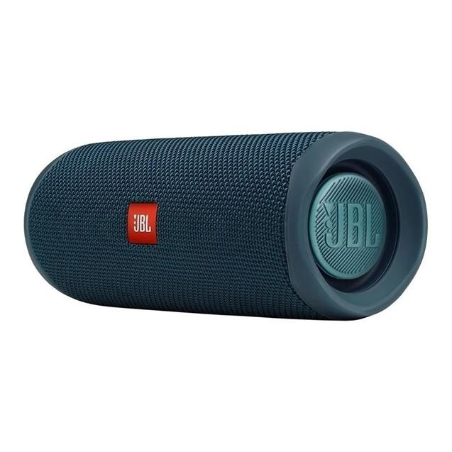 Parlante Jbl Flip5 Bt 12hs Splashproof Verde Azulado