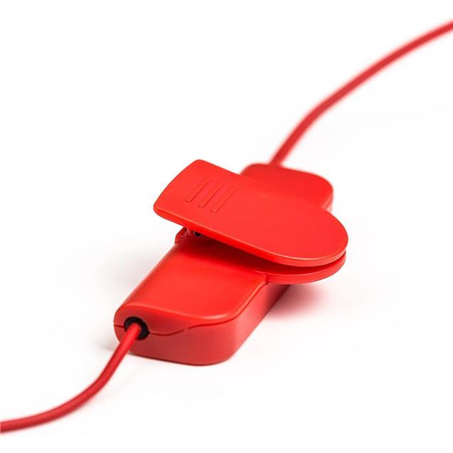 Auricular Pioneer Deportivo Bt Negro y Rojo (E7btr)