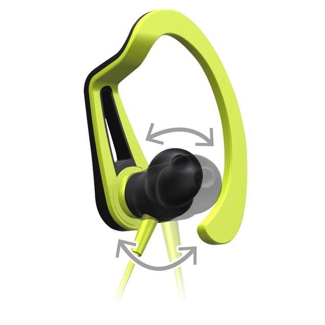 Auricular Pioneer Deportivo Bt Negro y Amarillo (E7bty)
