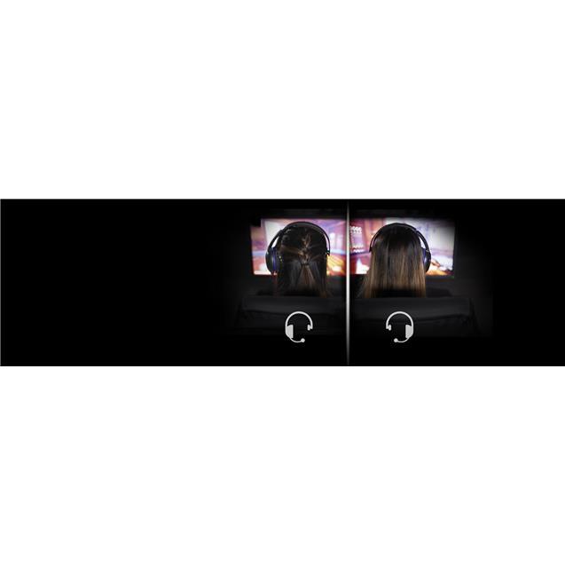 Auricular Hyperx 5634 Cloud Chat Black/Blue