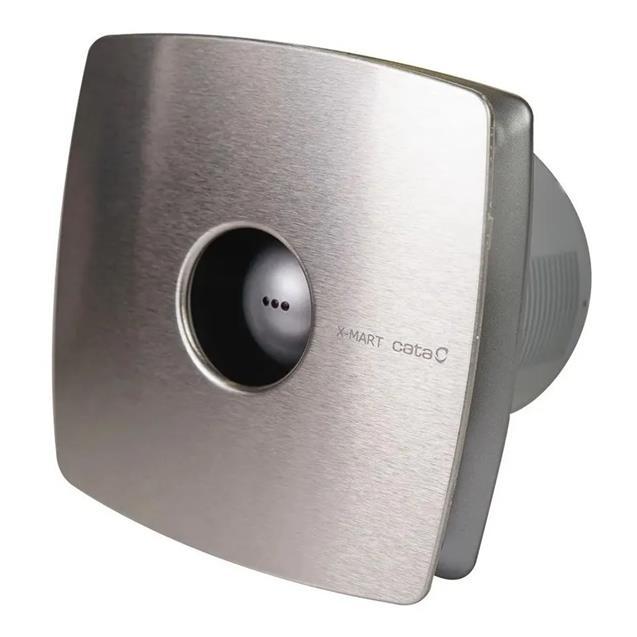 Extractor De Baño Cata Xmart Standard 12cm Inox 190 M3/h