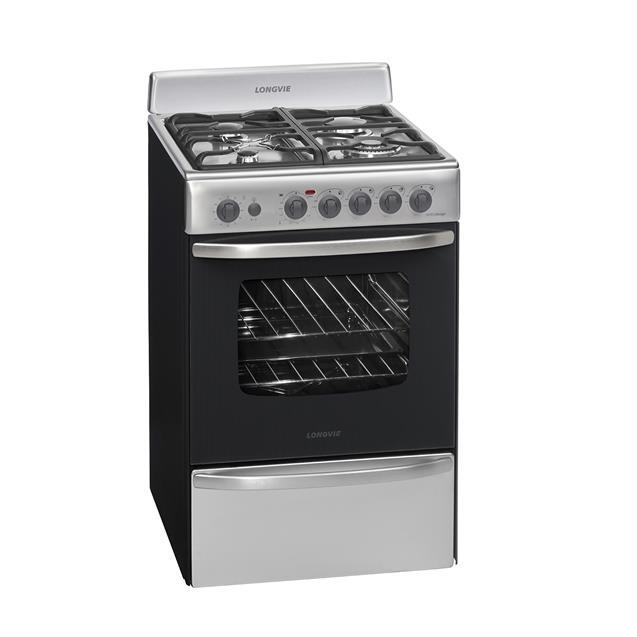 Cocina Longvie 60cm Acero (19601xf)