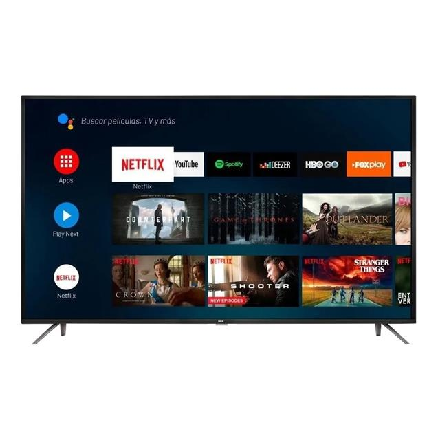 "Smart Tv Rca 50"" (X50andtv) 4k Bluetooth Hdr Android"