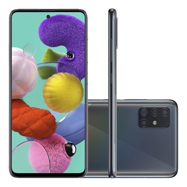 Samsung Galaxy A71 Black-