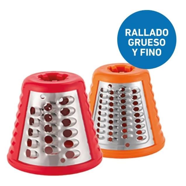 Rallador Peabody (Pesm326r) 5 Cortes Rojo