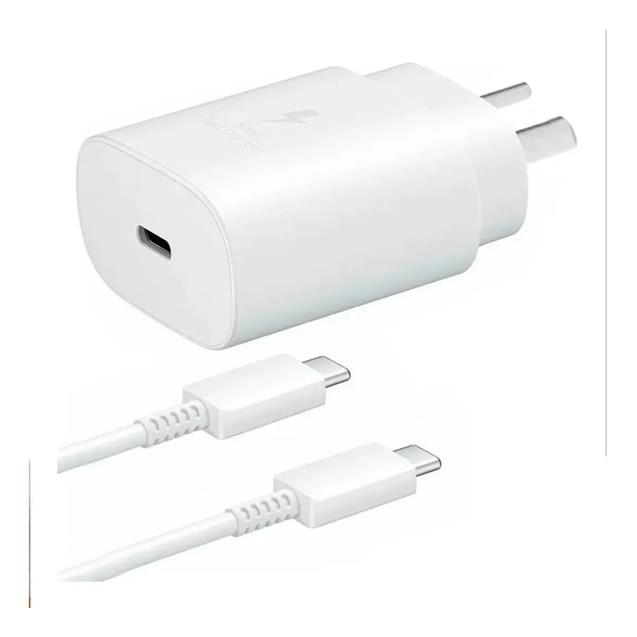 Cargador Samsung Carga Super Rapida USB - C (25W) White