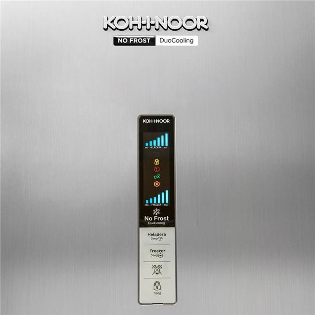 Heladera No Frost Kohinoor Khga41d/8 417 Lts Inox