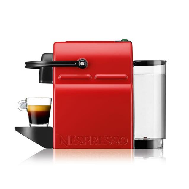 Cafetera Nespresso Inissia Red 0.7 Lts