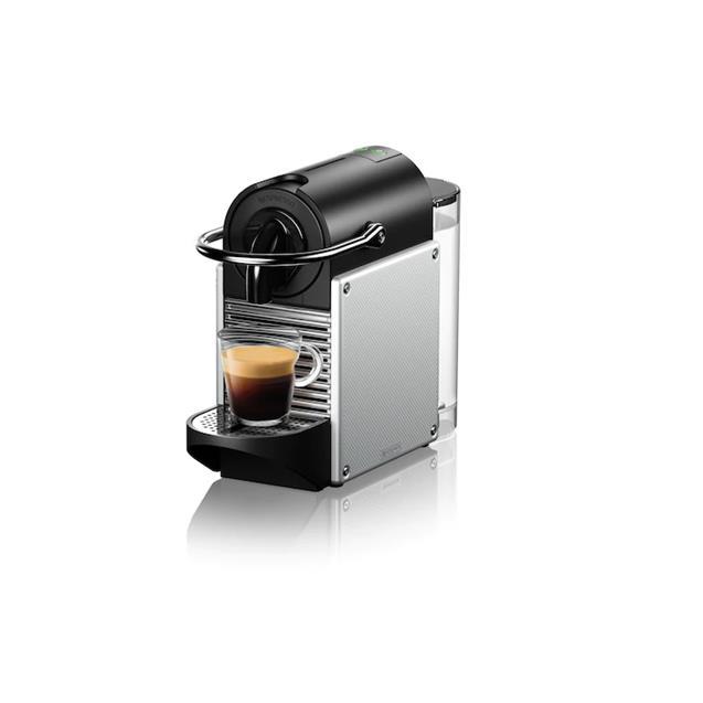 Cafetera Nespresso Pixie Aluminium 0.7 Lts